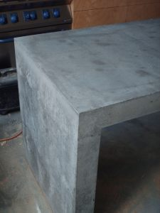 Custom Concrete Bench by TBBUILD